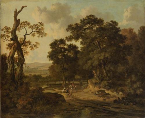 Waldeingang (Landscape) | Jan Wijnants | Oil Painting
