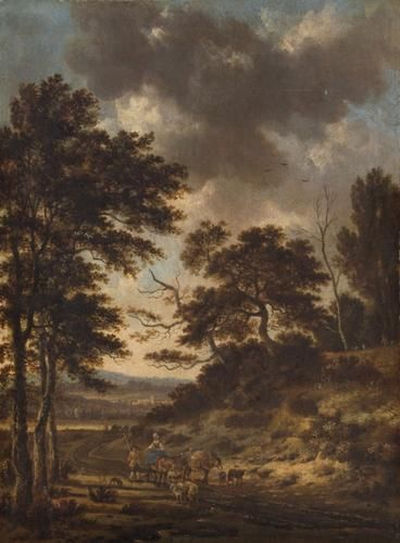 Abendliche Dunenlandschaft (Landscape) | Jan Wijnants | Oil Painting
