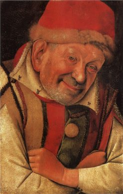 Portrait of the Court Jester Gonella | Jean Fouquet | Oil Painting