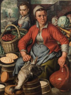 Market farmers | Joachim Beuckelaer | Oil Painting