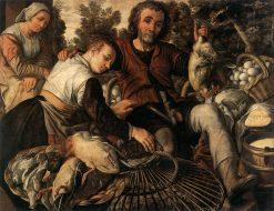 Market Peasants | Joachim Beuckelaer | Oil Painting