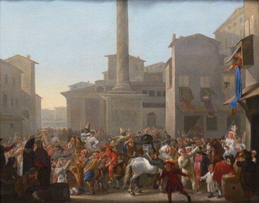 Roman Carnival | Johannes Lingelbach | Oil Painting