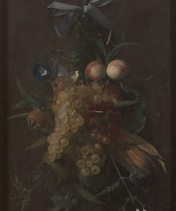 Festoon of Fruits and Flowers | Johannes van der Baren | Oil Painting