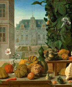 Still Life with Pumpkins | Johannes van der Baren | Oil Painting