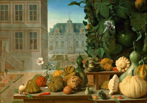 Still Life with Pumpkins | Johannes van der Baren | Oil Painting