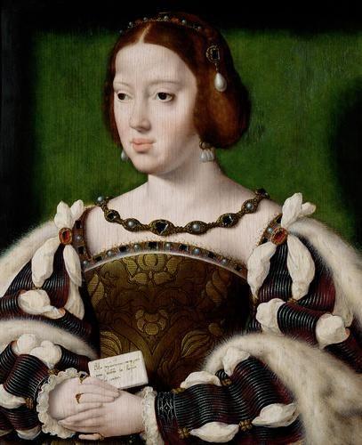 Eleanor of Austria | Joos van Cleve | Oil Painting