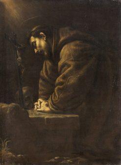 Saint Francis | Leandro Bassano | Oil Painting
