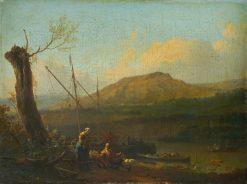 River Landscape | Ludolf Backhuysen | Oil Painting