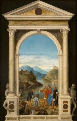 Christ with Apostles in the Garden | Marco Basaiti | Oil Painting