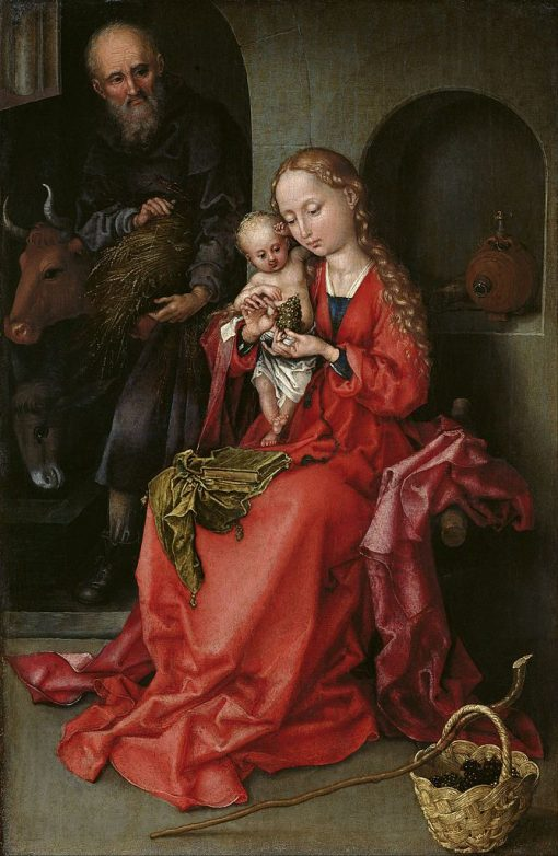 The Holy Family | Martin Schongauer | Oil Painting