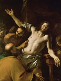 The Incredulity of Saint Thomas | Mattia Preti | Oil Painting