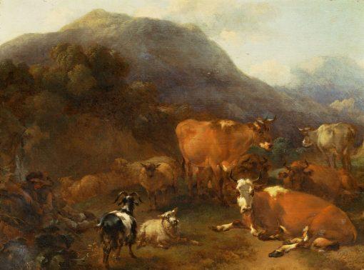 A Herdsman | Nicolaes Berchem | Oil Painting