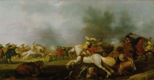 Battle Scene | Palamedes Palamedesz I | Oil Painting