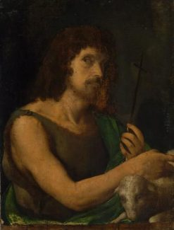 John the Shepherd | Palma il Vecchio | Oil Painting