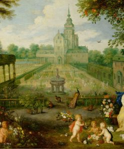 Floral Garden | Peeter van Avont | Oil Painting