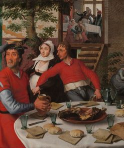 Farmers' Feast | Pieter Aertsen | Oil Painting