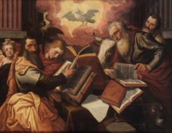 The Evangelists | Pieter Aertsen | Oil Painting