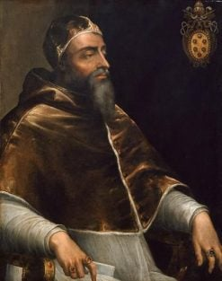 Portrait of Pope Clement VII | Sebastiano del Piombo | Oil Painting