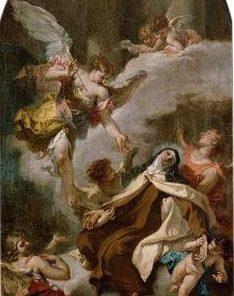 The Vision of Saint Teresa of Avila (study for an altarpiece) | Sebastiano Ricci | Oil Painting