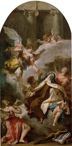 The Vision of Saint Teresa of Avila (study for an altarpiece) | Sebastiano Ricci | Oil Painting