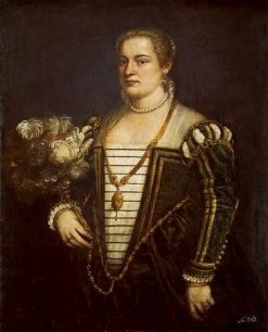 Portrait of a Lady (Lavinia?) | Titian | Oil Painting