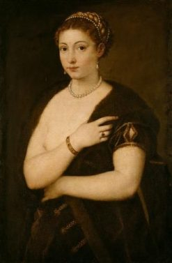 Woman in Fur | Titian | Oil Painting
