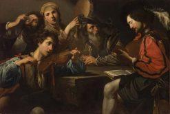 Group of Musicians | Valentin de Boulogne | Oil Painting