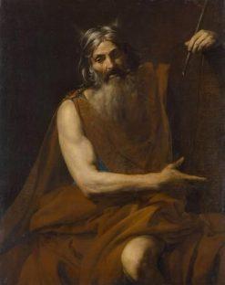 Moses with the Ten Commandments | Valentin de Boulogne | Oil Painting