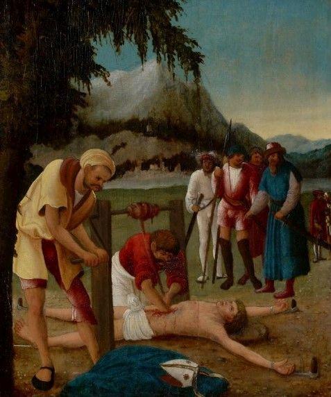 The Martyrdom of Saint Erasmus   Albrecht Altdorfer   Oil Painting