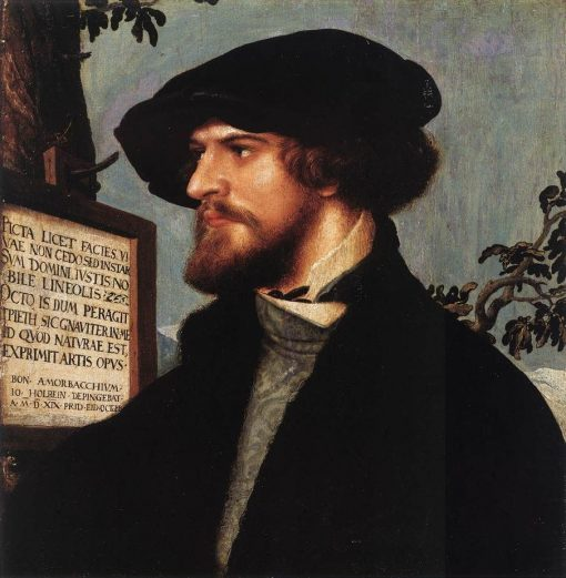 Portrait of Bonifacius Amerbach   Hans Holbein the Younger   Oil Painting