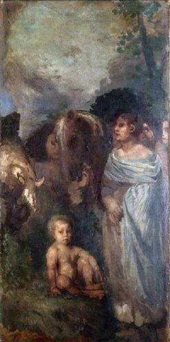 The Child | Hans von MarEes | Oil Painting