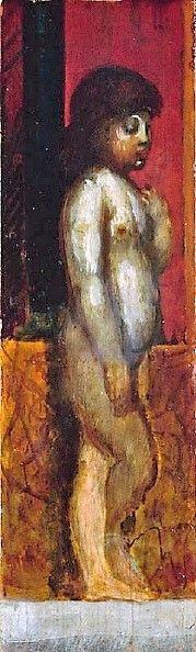 Putto | Hans von MarEes | Oil Painting