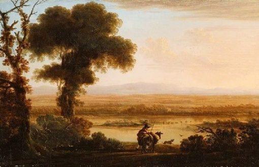 Southern River Landscape | Herman van Swanevelt | Oil Painting