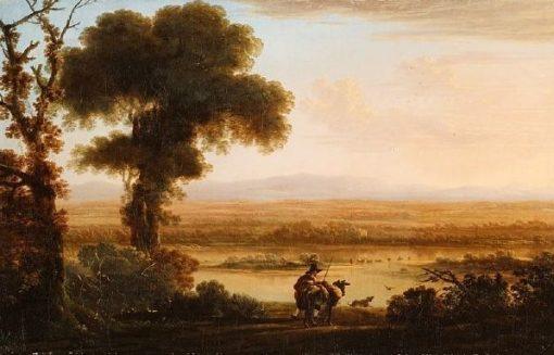 Southern River Landscape | Jan Asselijn | Oil Painting