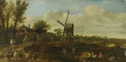 Dutch Landscape | Jan van Goyen | Oil Painting