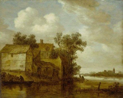 River Landscape | Jan van Goyen | Oil Painting