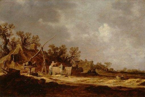 Farms | Jan van Goyen | Oil Painting