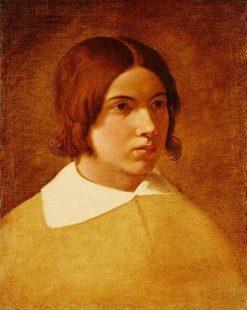 Portrait of the Painter Franz von Rohden | Johann Friedrich Overbeck | Oil Painting
