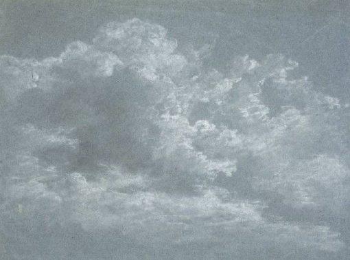 Cloud Study | Johann Georg von Dillis | Oil Painting