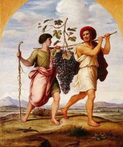 Die Kundschafter aus Kanaan (The Explorers of Canaan) | Johann Heinrich Ferdinand Olivier | Oil Painting