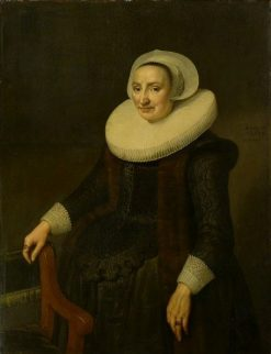 Portrait of an Elderly Woman | Michiel Jansz. van Mierevelt | Oil Painting