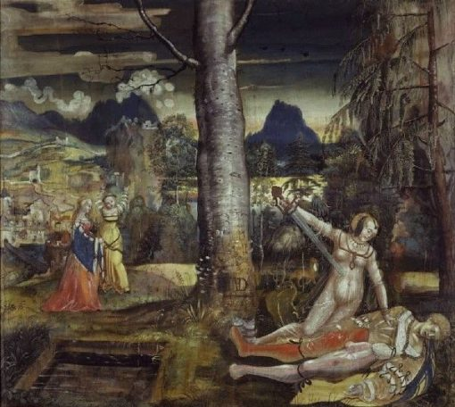 Pyramus and Thisbe | Niklaus Manuel | Oil Painting