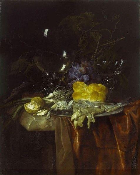 The Breakfast Table | Willem van Aelst | Oil Painting
