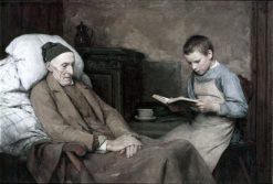 The Grandpa | Albert Anker | Oil Painting