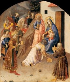 Adoration of the Magi | Fra Angelico | Oil Painting