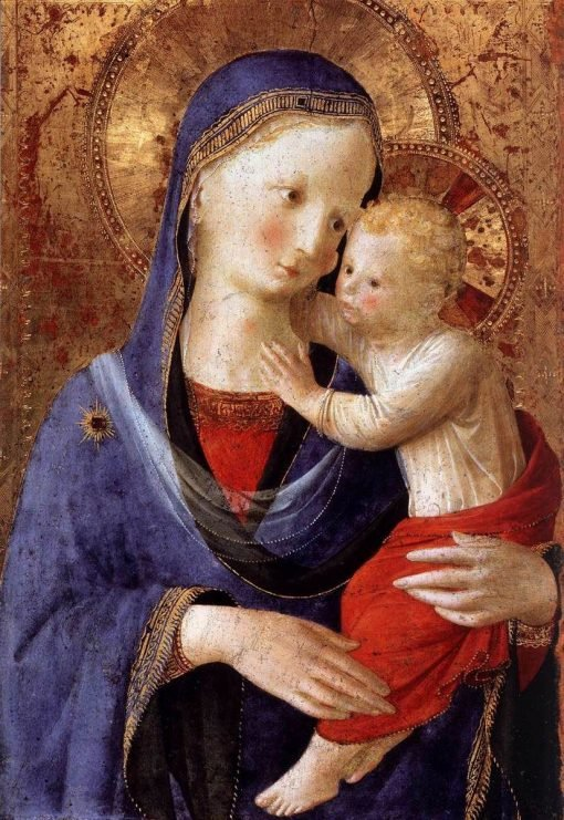 Virgin and Child | Fra Angelico | Oil Painting