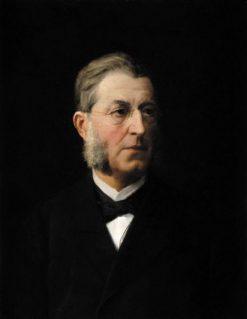 Portrait of Franz Luthardt | Albert Anker | Oil Painting