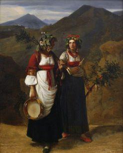 Two Italian Women | LEopold Robert | Oil Painting