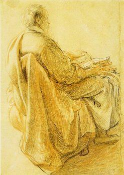 Study of Petrus   Rembrandt van Rijn   Oil Painting