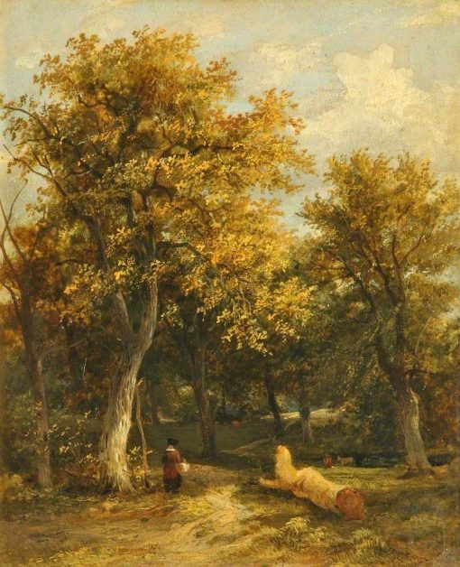 The Edge of a Wood | James Stark | Oil Painting